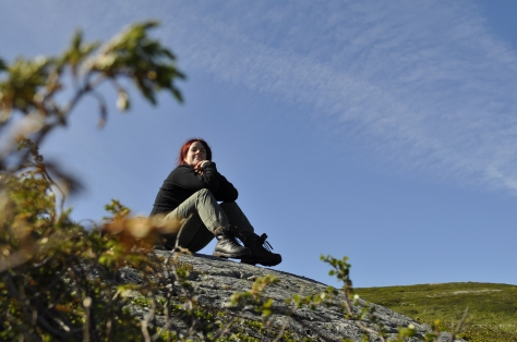 Meg på fjellet