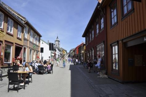 Fine byen Røros.